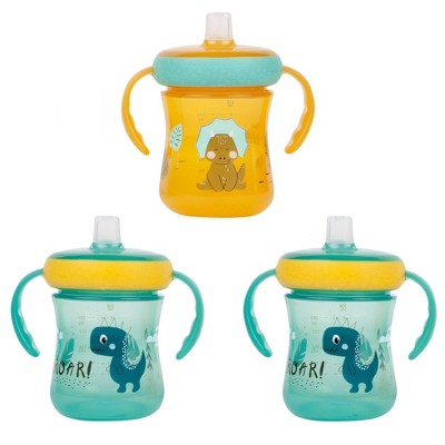 The First Years 3pk Drop Guard Soft Spout Trainer - 7oz