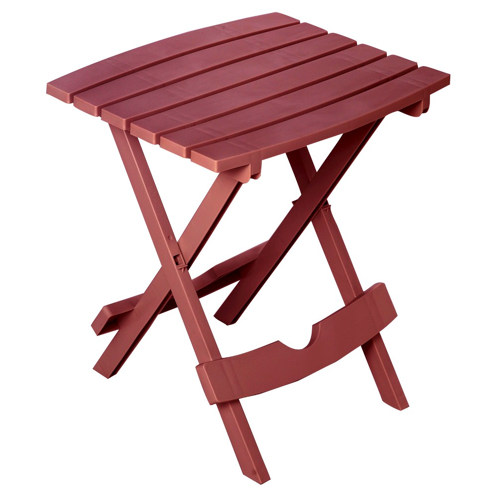 Image of Quik Fold Side Tables Merlot - Adams