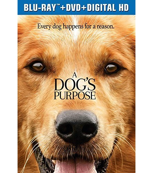 A Dog's Purpose (Blu-ray + DVD + Digital) - image 1 of 1