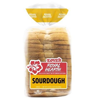 Love's Royal Hearth Sourdough Bread - 24oz
