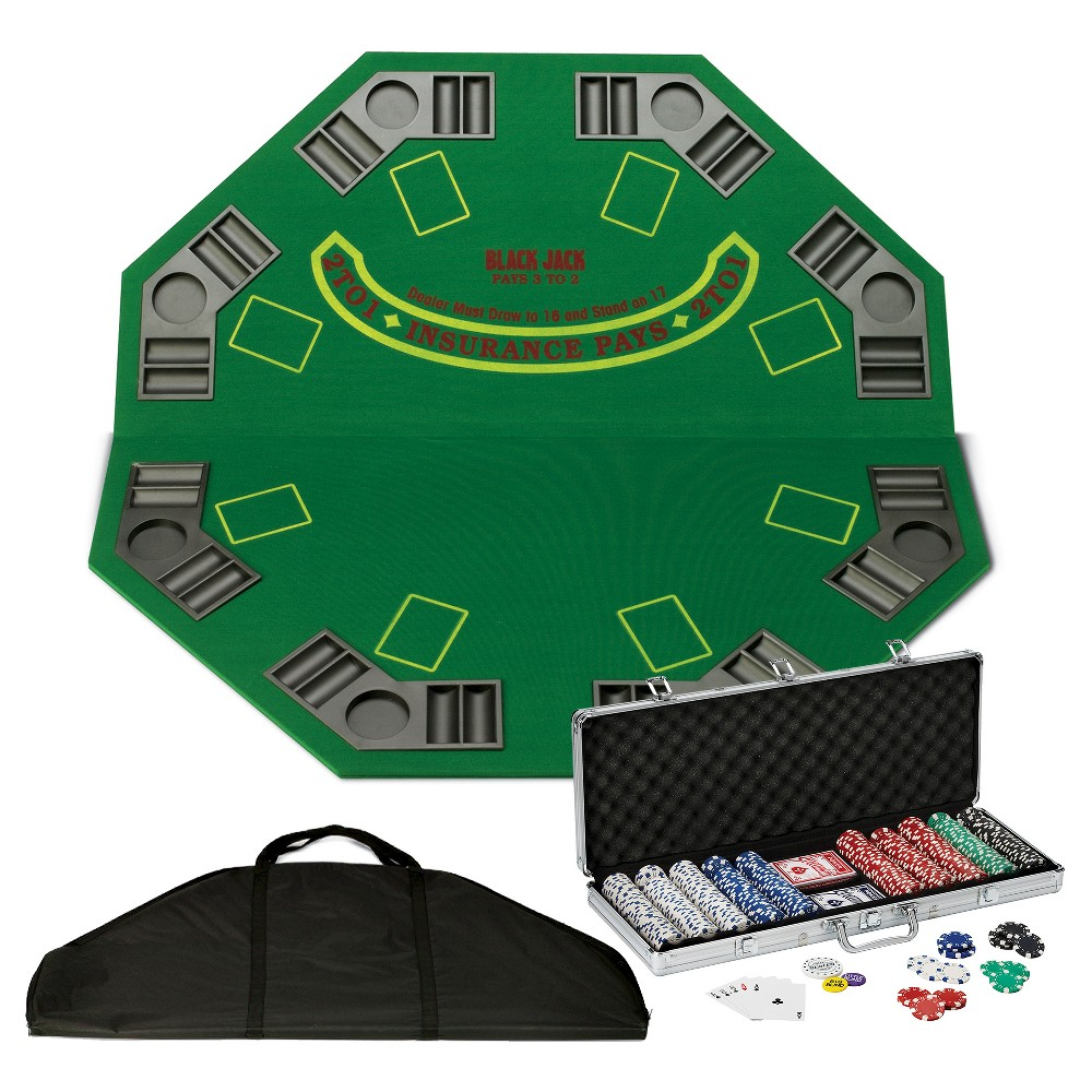 Fat Cat Poker and Blackjack Table Top Bundle