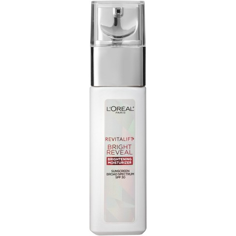 L'Oreal Paris Revitalift Bright Reveal Brightening Day Moisturizer with SPF 30 1oz - image 1 of 3