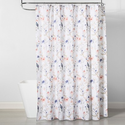 Floral/Bird Shower Curtain - Threshold™