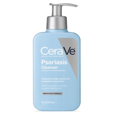 Facial Cleanser: CeraVe Psoriasis Cleanser