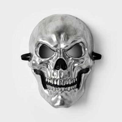 Adult Silver Skull Halloween Mask - Hyde & EEK! Boutique™