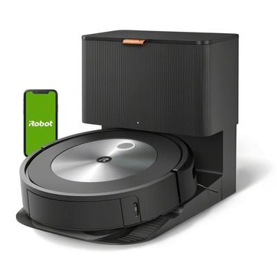 iRobot Roomba j7+ Wi-Fi Connected Self-Emptying Robot Vacuum - Black - 7550