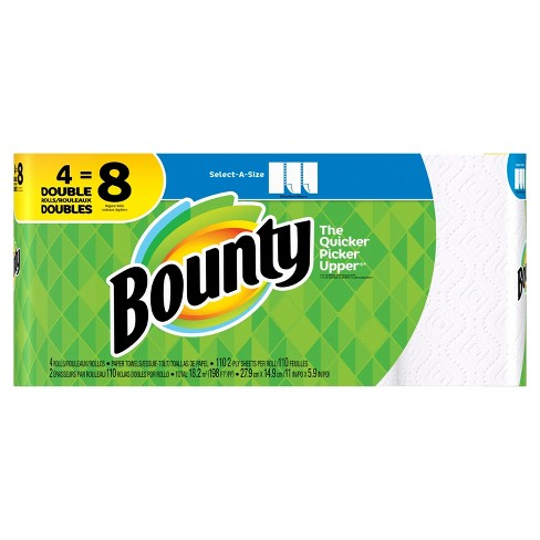 Bounty Select-A-Size Paper Towels - Double Rolls - image 1 of 5