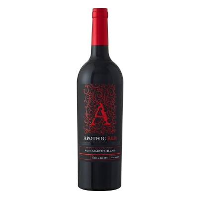 Apothic Red Blend Red Wine - 750ml Bottle