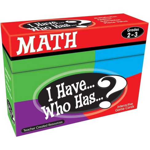 Teacher Created Resources Math Card Game - I Have Who Has - Grades 2 to 3 - image 1 of 2