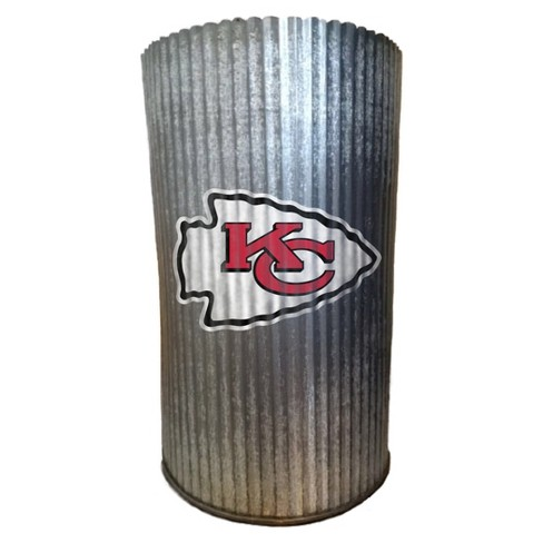 NFL Kansas City Chiefs Metal Cylinder Vase - image 1 of 1
