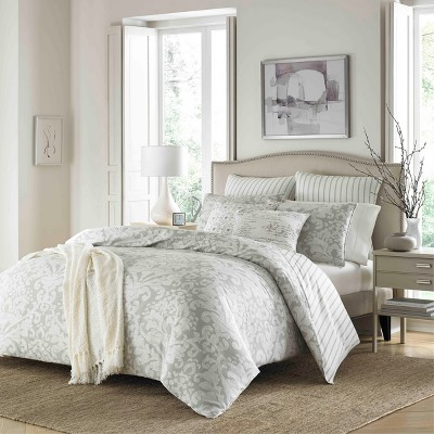 Camden Comforter Set Gray - Stone Cottage