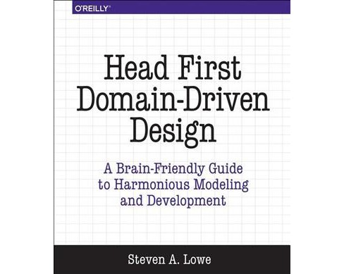 Head First Domain-driven Design : A Brain-friendly Guide to Accelerating Modeling and Development - image 1 of 1
