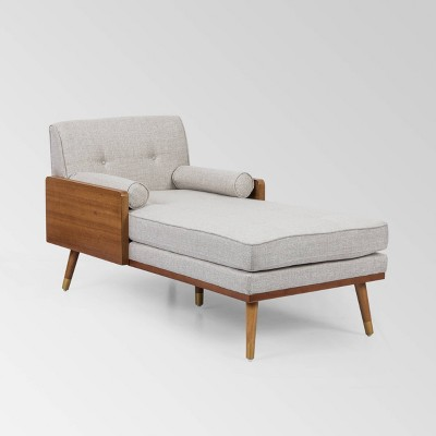Fortas Mid-Century Modern Chaise Lounge - Christopher Knight Home