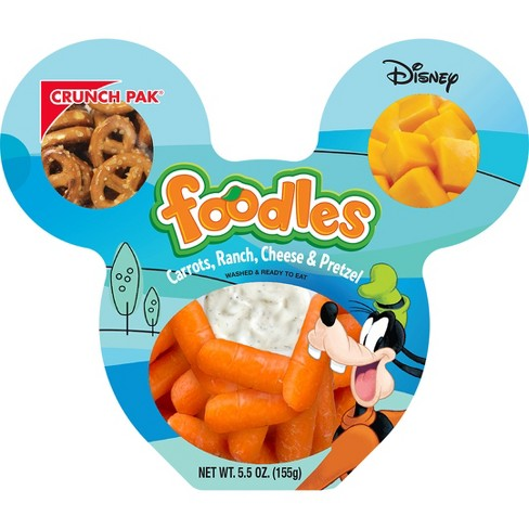 Crunch Pak Disney Carrot, Cheese, Pretzel, and Ranch Foodle - 5.5oz - image 1 of 1