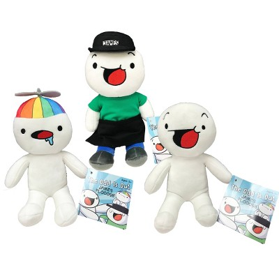 """TheOdd1sOut 10"""" Plush Styles May Vary"""