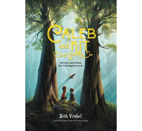 Caleb and Kit -  by Beth Vrabel (Hardcover) - image 1 of 1