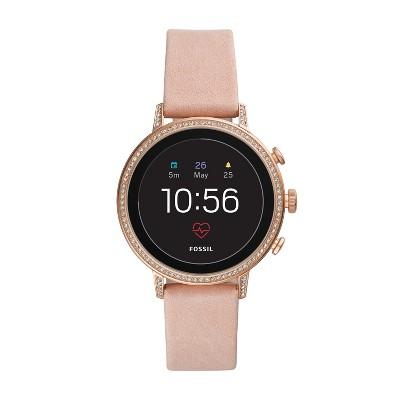 6d6cc262a30 Fossil Gen 4 Smartwatch - Venture HR 40mm Blush Leather