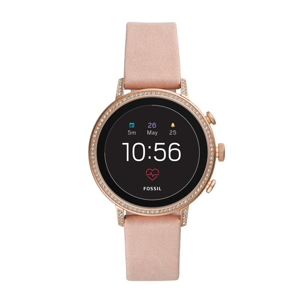 Fossil Gen 4 Smartwatch - Venture HR 40mm Blush Leather was $275.0 now $149.0 (46.0% off)