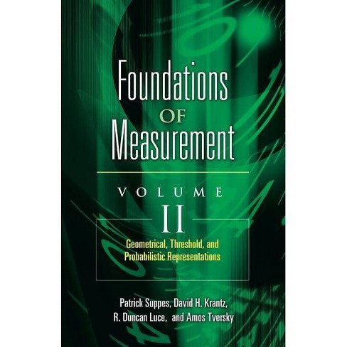 Geometrical, Threshold, and Probabilistic Representations - (Foundations of Measurement) (Paperback) - image 1 of 1