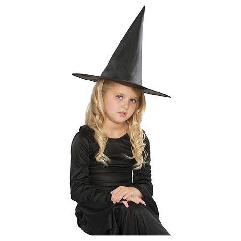 Girls  Basic Black Witch Hat   Target e9d87eb5d654