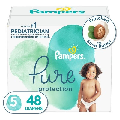 Pampers Pure Protection Diapers Super Pack - Size 5 - 48ct