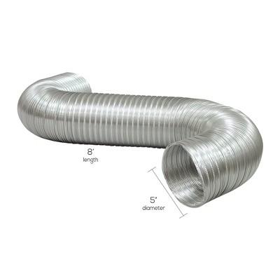Deflect-O Deflecto A058/5 Semi-rigid Flexible Aluminum Duct VENA0585