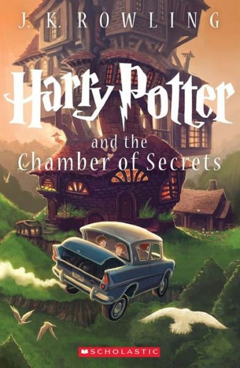 Harry Potter and the Chamber of Secrets (Reprint) (Paperback) (J. K. Rowling) - image 1 of 1