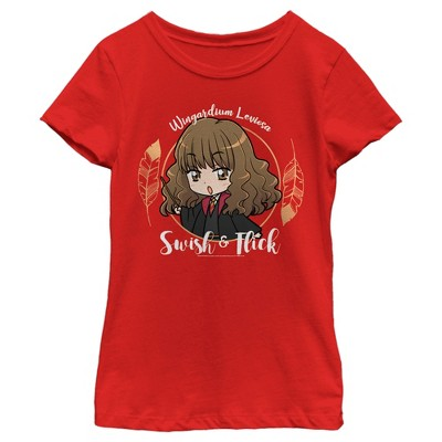 Girl's Harry Potter Hermione Swish and Flick T-Shirt