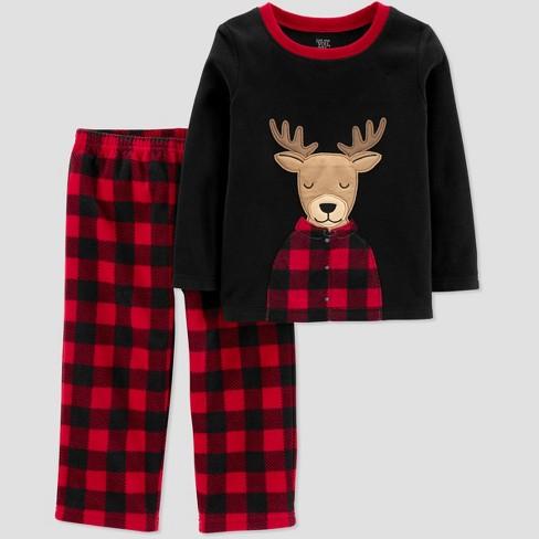 822b3741665e Toddler Boys  Reindeer 2pc Pajama Set - Just One Yo   Target