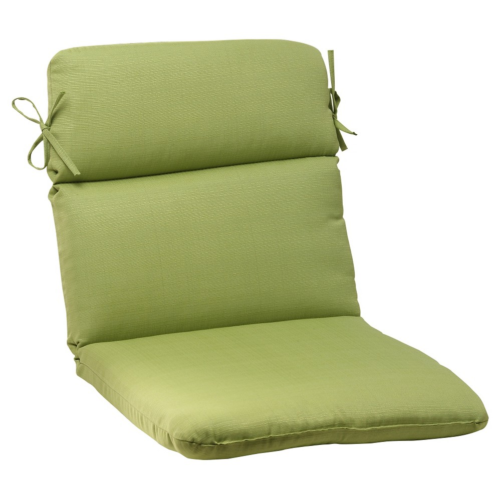 Outdoor Rounded Chair Cushion - Green Forsyth Solid
