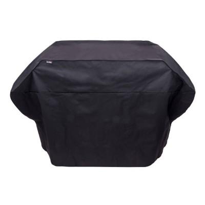 Char-Broil 5+ Burner Rip-Stop Grill Cover - Black - Black