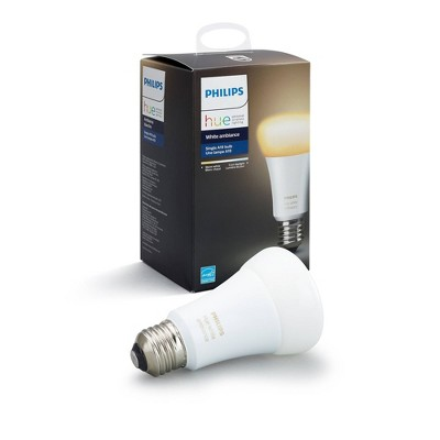 Philips Hue A19 White Ambiance LED Bulb