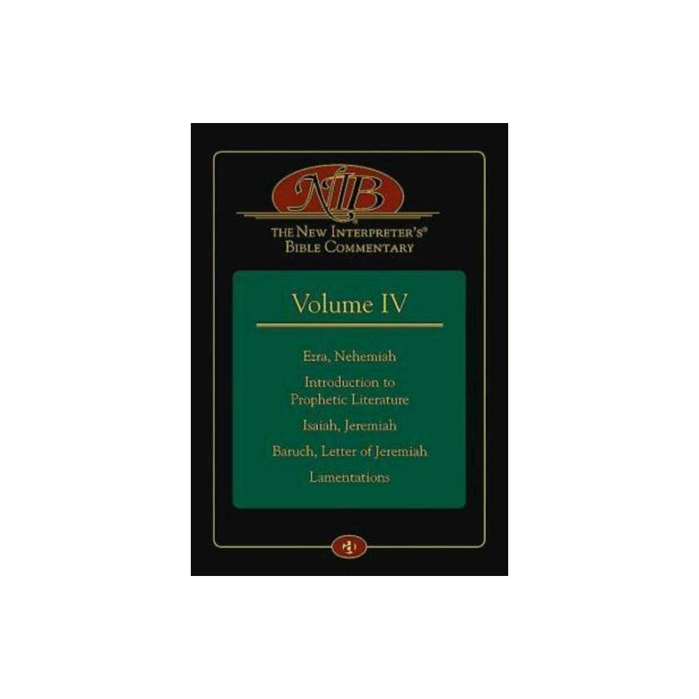 The New Interpreter S R Bible Commentary Volume Iv Hardcover
