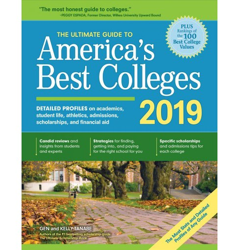 Ultimate Guide to America's Best Colleges 2019 : Detailed Profiles on Academics, Student Life, Campus  - image 1 of 1