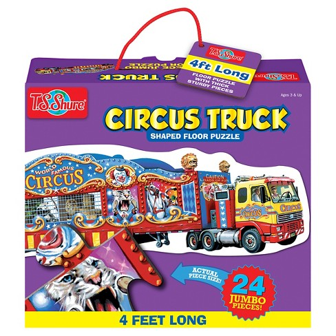 TS Shure Circus Train Jumbo Floor Puzzle 24pc - image 1 of 2