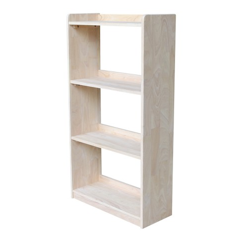 "Abby 50"" Bookcase - Unfinished - International Concepts - image 1 of 6"