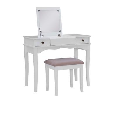 Kendal Vanity Set White - Linon