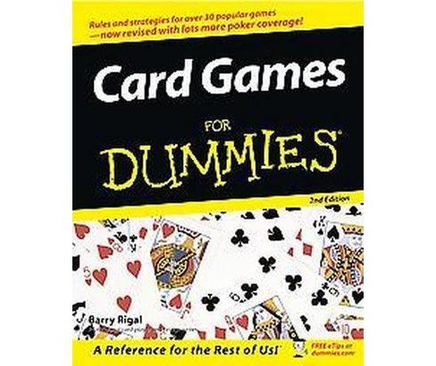 Card Games for Dummies (Paperback) (Barry Rigal) - image 1 of 1