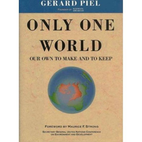 Only One World - (Vox Populi) by  Gerard Piel (Hardcover) - image 1 of 1
