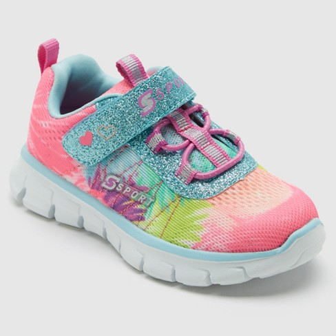 Toddler Girls' S Sport By Skechers Miriam Performance Athletic Shoes - 7 - image 1 of 4