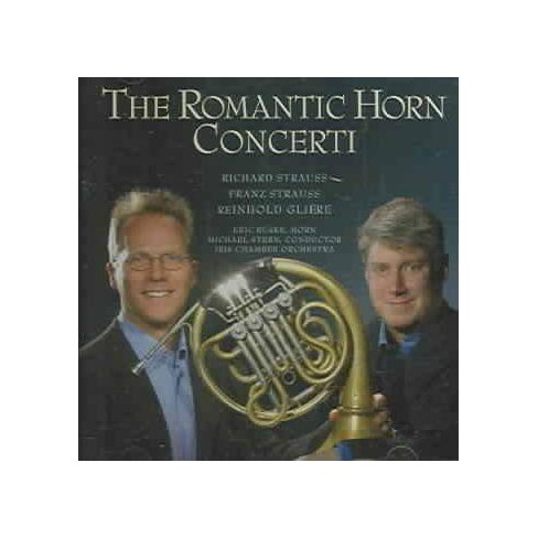 Clark - Strauss: Romantic Horn Concerti (CD) - image 1 of 1