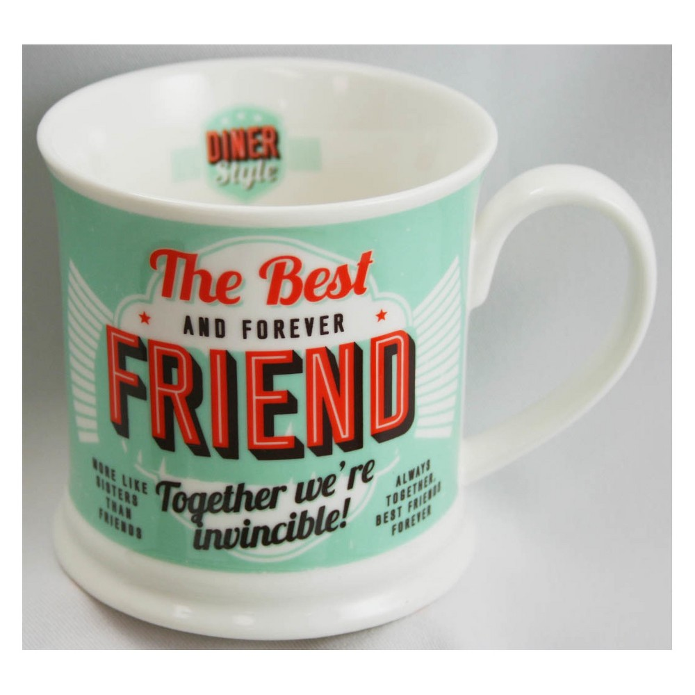 Image of Best Friend Diner Style Mug - History & Heraldry, Green