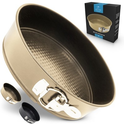 Zulay Kitchen Cheesecake Pan with Safe Non-Stick Coating & Leak-Proof Interlocking Layers for Easy Release