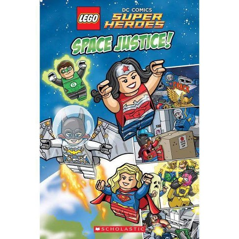 Space Justice! - (Lego DC Super Heroes) by  Scholastic (Paperback) - image 1 of 1