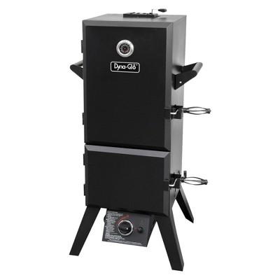 Dyna-Glo Vertical Double Door Propane Gas Smoker