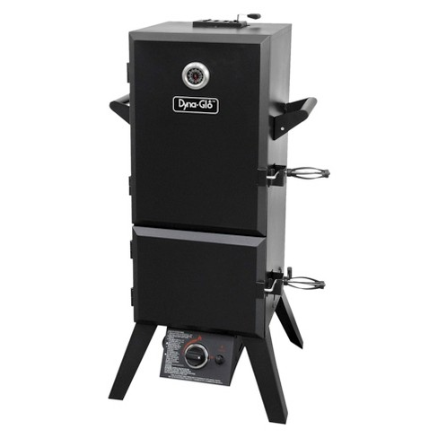 Dyna-Glo Vertical Double Door Propane Gas Smoker - image 1 of 6