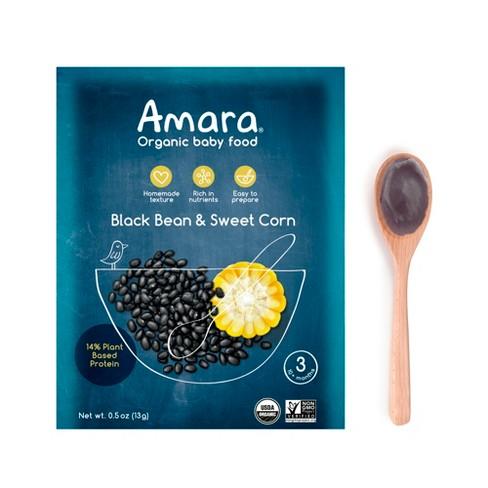 Amara Black Beans & Sweet Corn Baby Food - 3.5oz - image 1 of 4