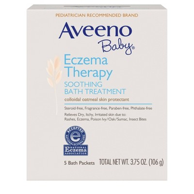 Aveeno Baby Soothing Bath Treatment - 3.75oz - 5ct