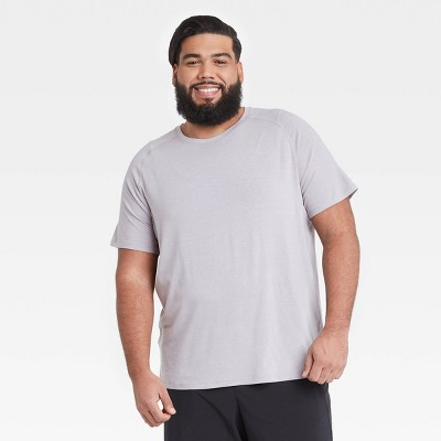 Men's Short Sleeve Run T-Shirt - All in Motion™ Gray XL