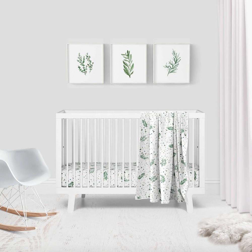 Image of Goumikids Botanical Garden Organic Crib Bedding Set - 3pc